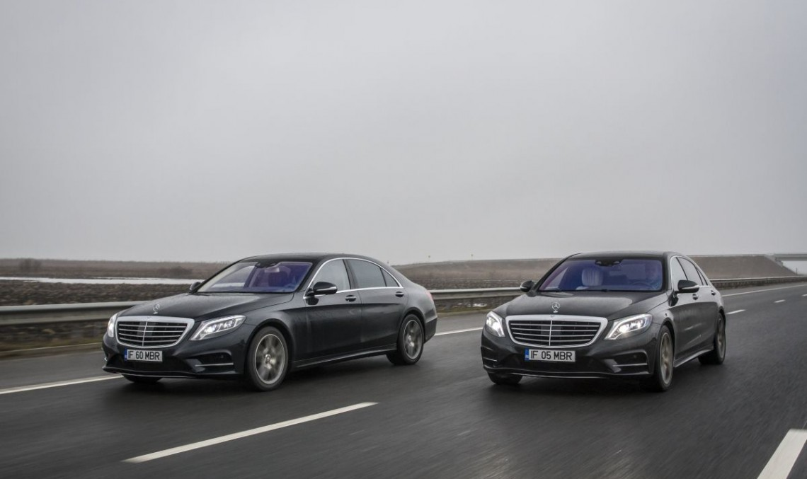 Fuel Consumption Test Mercedes S 500 Plug In Hybrid Vs S 350