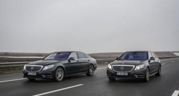 Fuel consumption test: Mercedes S 500 Plug-In Hybrid vs S 350 BlueTec