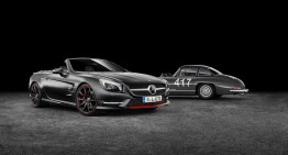 Mercedes-Benz SL 417 Mille Miglia special edition bound for Geneva