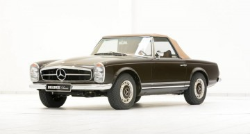 The Brabus Pagoda – Turning back the clock