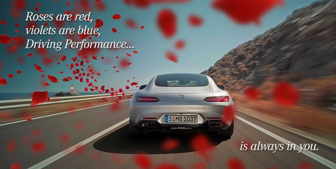 Valentine's Day – Show your Mercedes some love!