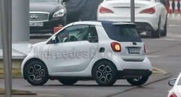 Smart fortwo cabrio: with textile roof from 2016