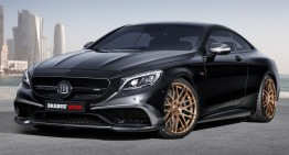 Brabus 850 6.0 Biturbo Coupé. The world's fastest and most powerful all-wheel drive coupe