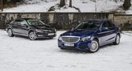 Volkswagen Passat 2.0 BiTDI 4MOTION vs. Mercedes-Benz C 250 BlueTEC 4MATIC