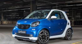 Carlsson smart fortwo CK10. The meanest smart yet?