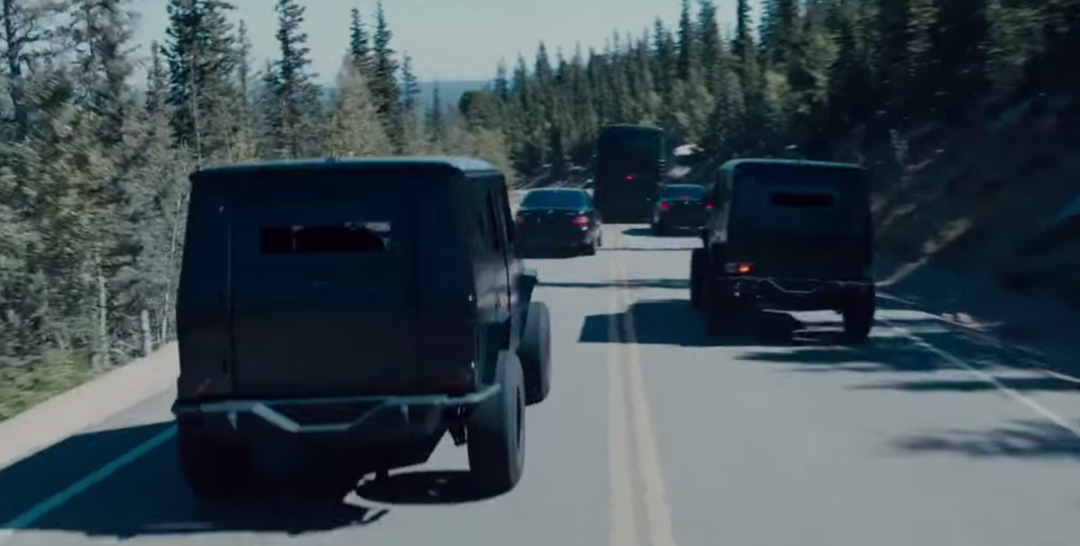 G Class For Sale >> Armored Mercedes-Benz G-Class stars in Fast and Furious 7 ...