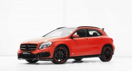 Mercedes GLA with AMG Sports Pack receives a gift from Brabus