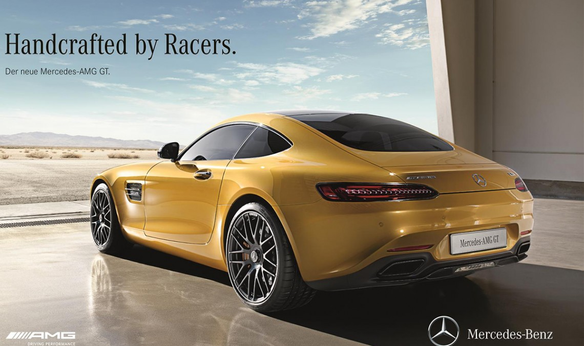Handcrafted by Racers – The new Mercedes-AMG GT. VIDEO