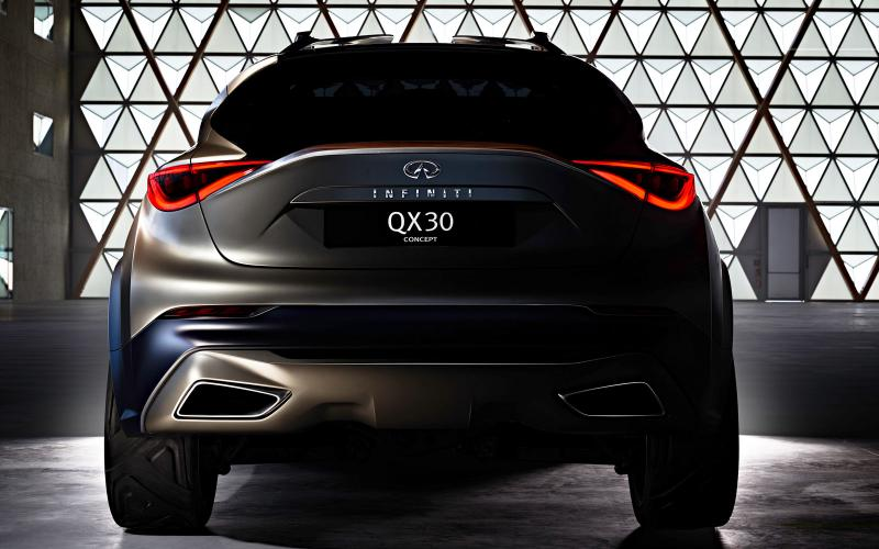 Infiniti announces the QX30, a new crossover based on the GLA platform