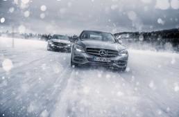 Mercedes-Benz Winter Driving Event – Control, not hazard!