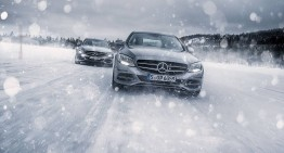 Mercedes-Benz Winter Driving Event – Control, not hazard!