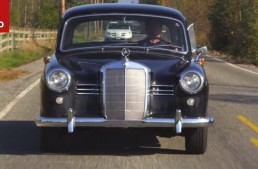 Classic 1953 Mercedes-Benz 180D 'Ponton' video test