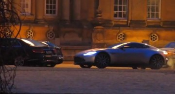 Mercedes in James Bond Spectre, the spy's latest outing