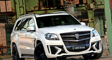 Larte Design takes the Mercedes-Benz GL and crowns it the king of SUVs