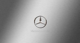 90 years of Mercedes-Benz logo