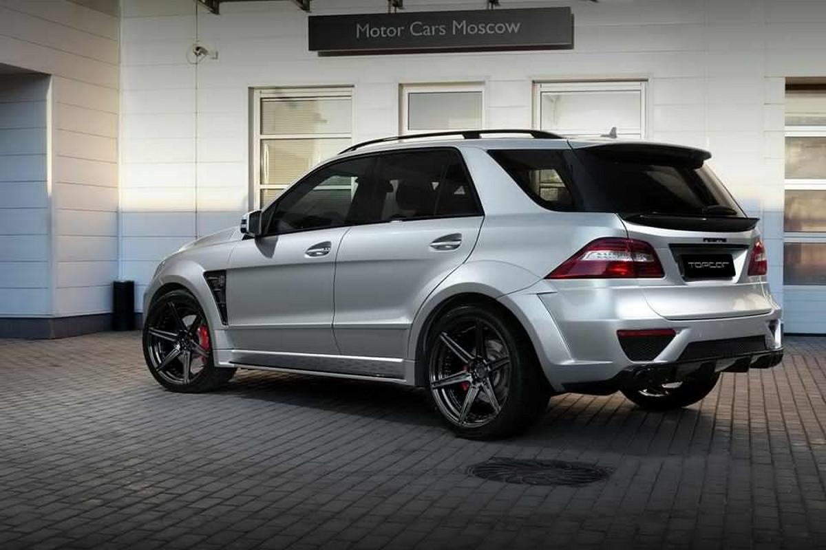 Topcar Reveals The Dark Side Of The Mercedes Benz Ml 63