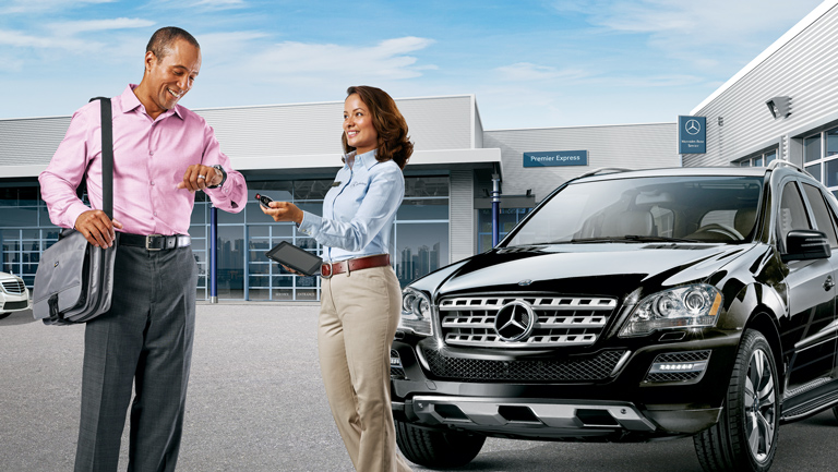 Premier Express: The no-appointment quick service from Mercedes-Benz
