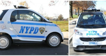 NYPD's new police car – A smart fortwo!
