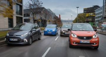 "Auto Motor und Sport: smart Forfour in ""The City Quartet"""