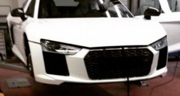 Next-generation Audi R8 spied in production guise