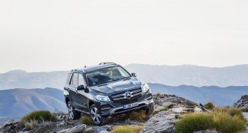 Breaking news: First video of the new Mercedes-Benz GLE