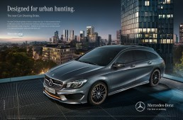Designed for urban hunting – The new Mercedes-Benz CLA Shooting Brake
