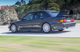 Autobild Germany takes a 190 E 2.5 16 Evolution II for s spin