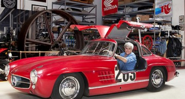 Jay Leno presents his 300SL Gullwing Coupe