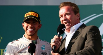 "Arnold ""Terminator"" Schwarzenegger loves Formula 1: ""I'll be back!"""
