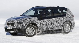 BMW X1 almost uncovered in latest spy photographs