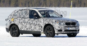 First upcoming BMW X3 spy shots show Mercedes GLC rival
