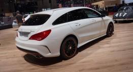 GENEVA LIVE: Mercedes-Benz CLA 45 AMG Shooting Brake (VIDEO)