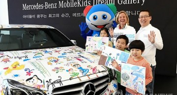The Mercedes-Benz Mobile Kids safety program – Drawing on a Benz
