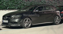 More power for Mercedes-Benz A 45 AMG facelift – first spy pics