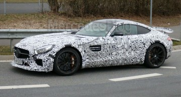 Hot Mercedes-AMG GT 3 road-car caught on video