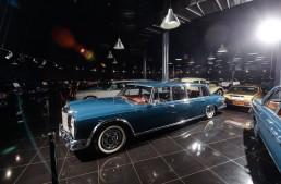 One more priceless exhibit in Ţiriac Collection: Mercedes-Benz S 600 Pullman