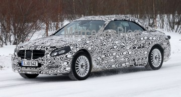Mercedes-Benz C-Class Cabrio spied ahead of 2016 debut