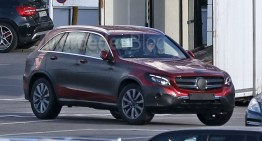 Mercedes GLC without camo