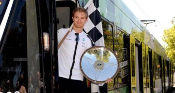 "Nico Rosberg riding ""a streetcar named Desire"""
