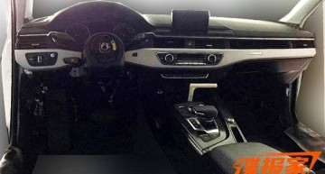 New Audi A4 interior uncovered. C-Class rival launches this year