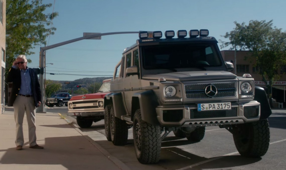 Michael Douglas has a new partner in crime – the G 63 AMG 6×6