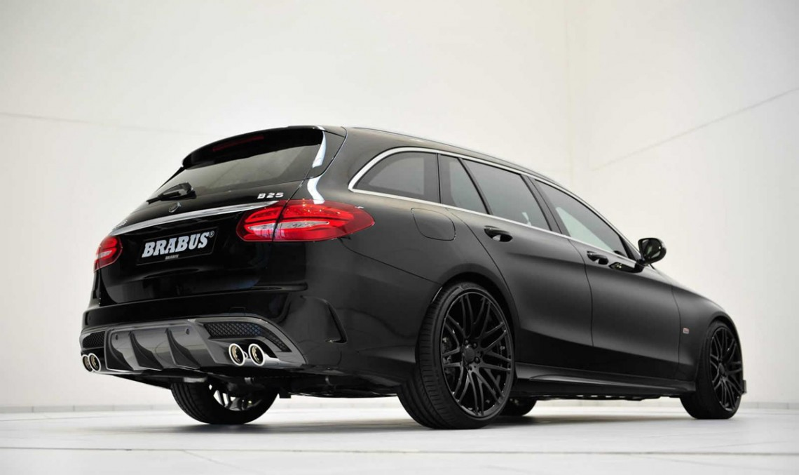 Mercedes-Benz C-Class AMG Line estate modified by Brabus