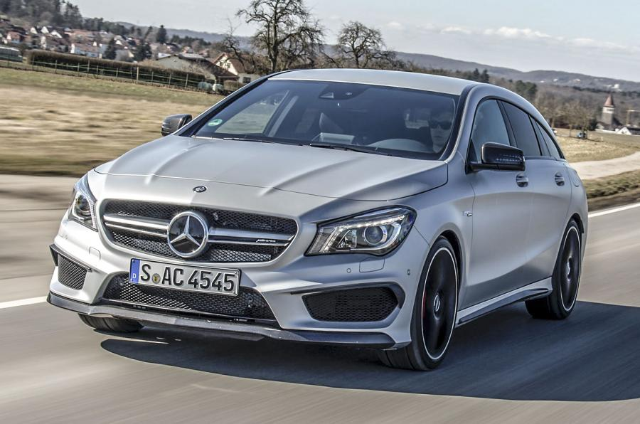 Mercedes-Benz CLA 45 AMG world-first test. Full verdict by Autocar