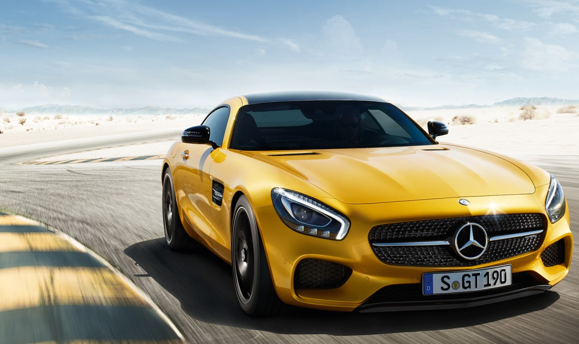 Mercedes accelerates to top speed in 4 ads