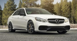 Mercedes-Benz E 63 AMG loves Vorsteiner V-FF 103 wheels