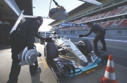 Barcelona F1 tests- Final preparations
