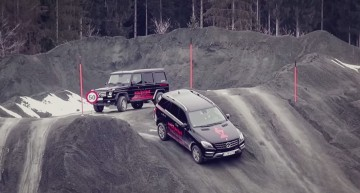 Annual Mercedes-Benz Kitzbühel off-road action