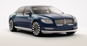 New overseas rival for Mercedes-Benz: Lincoln Continental