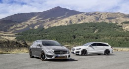 Start for Mercedes CLA Shooting Brake