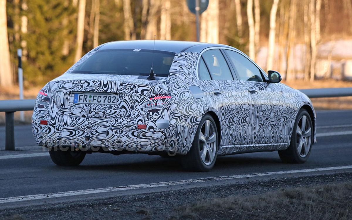Spy Shots Mercedes E Class Pricing